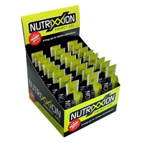 Box Nutrixxion Energie Gel Lemon Fresh mit Koffein