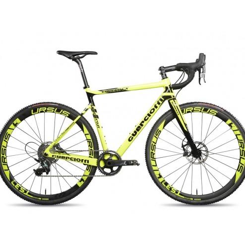 Crossrad Guerciotti Ereuka CX yellow mit SRAM Force X1 hydraulic