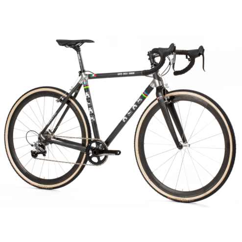 Crossrad ALAN Super Cross Carbon Design LN1C mit Shimano Ultegra DI2 R8050