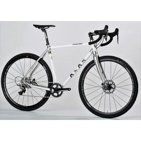 Crossrad ALAN Super Cross Scandium Design SCS3 mit Shimano Ultegra R8000