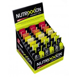 Box Nutrixxion Energie Gel Mix mit Koffein