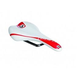 Sattel 4ZA Cirrus Pro weiß-rot 130mm