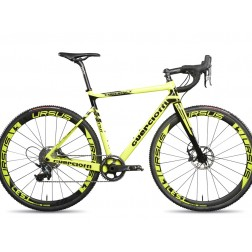 Crossrad Guerciotti Ereuka CX yellow mit SRAM Red eTap hydraulic