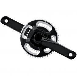 Kurbelgarnitur FSA Powerbox Carbon BB386 Evo 36/46