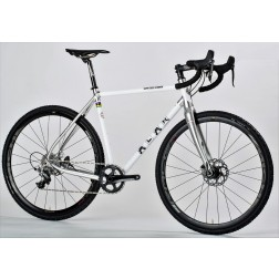 Crossrad ALAN Super Cross Scandium Design SCS3 mit SRAM Apex X1 hydraulic