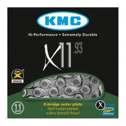 Kette KMC X11-93 Silber