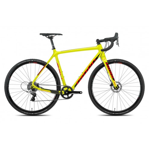 Crossrad Niner BSB 9 RDO gelb mit SRAM RED 22 hydraulic