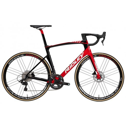 Rennrad Ridley Noah Fast Disc Design NFC09AS mit SRAM RED
