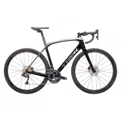 Rennrad Domane SLR 7 Disc Trek Black/Quicksilver-Anthracite Fade