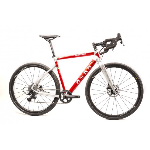 Gravelbike ALAN Super Gravel Scandium GT Design SGS5 mit SRAM Force X1 hydraulic