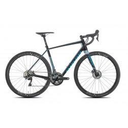 Gravelbike Niner RLT 9 RDO schwarz/blau mit SRAM Rival X1 hydraulic