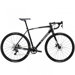 Crossrad Trek Crockett Matte black mit Shimano 105