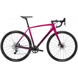 Crossrad Trek Crockett Magenta/Mulberry Fade mit Shimano 105 hydraulic