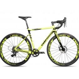 Crossrad Guerciotti Eureka CX yellow mit SRAM Rival X1 hydraulic