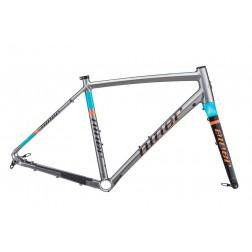 Rahmen Niner RLT 9 RDO grau-orange-blau