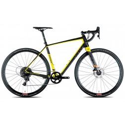 Gravelbike Niner RLT 9 RDO schwarz/gelb mit Shimano Ultegra hydraulic
